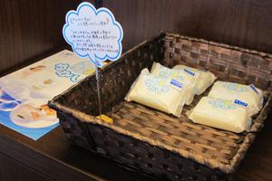 震災以後、宮古にある浄土ヶ浜パークホテルの売店も「わかしお」販売に協力し始めた