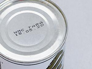 缶フタに記される賞味期限は「おいしく食べられる」期間の目安