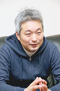 東卸広報文化委員会委員長の島津修常務理事