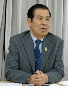 「漁業を職業として志す若者が増えている」と話す小坂会長