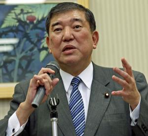 「水産を日本の成長産業に」と熱く語る石破自民党水産基本政策委員長