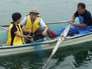 水産高校生の新卒採用に向け交流を深める教員と漁業団体関係者