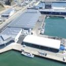 西、東、中央3つの最新の荷捌き場がフル稼働を始めた女川魚市場