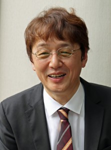 「水産業は地域産業」と熱く語る濱田教授