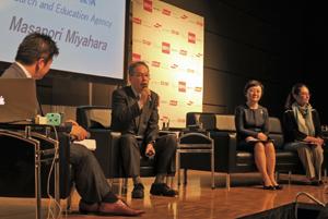 幅広い連携が持続性を推進すると指摘されたトークセッション