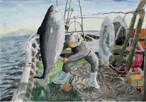 日本水産株式会社賞を受賞した小