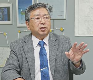 「外国漁船をとにかく繰り返し排除することだ」と強調した川口会長