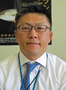 卸売市場認可制について「市場に多様性を促す」と強調する武田室長