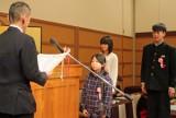 県知事賞の鈴木さん(手前)、柳橋さん(奥左)、阿部さん(奥右)