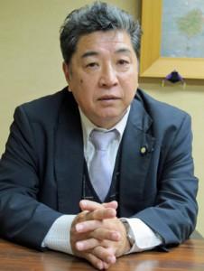 県一漁協へ「勝負の年」と決意を語る平井会長