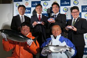 協力した宇和島プロジェクトの木和田権一社長ら。