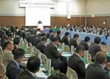 全国から多くの関係者が集まりサンマやイカについて議論した取引懇談会