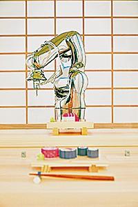 カウンターの向こうは職人ではなくロボット