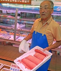 ミナミマグロへのこだわりを語る魚義商店の渡邊一夫社長