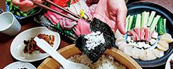 定番化する手巻き寿司
